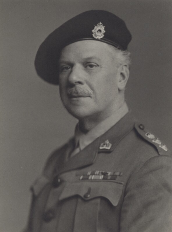Edward James Bruce, 10th Earl of Elgin and 14th Earl of Kincardine, by Walter Stoneman, May 1943 - NPG x167366 - © National Portrait Gallery, London