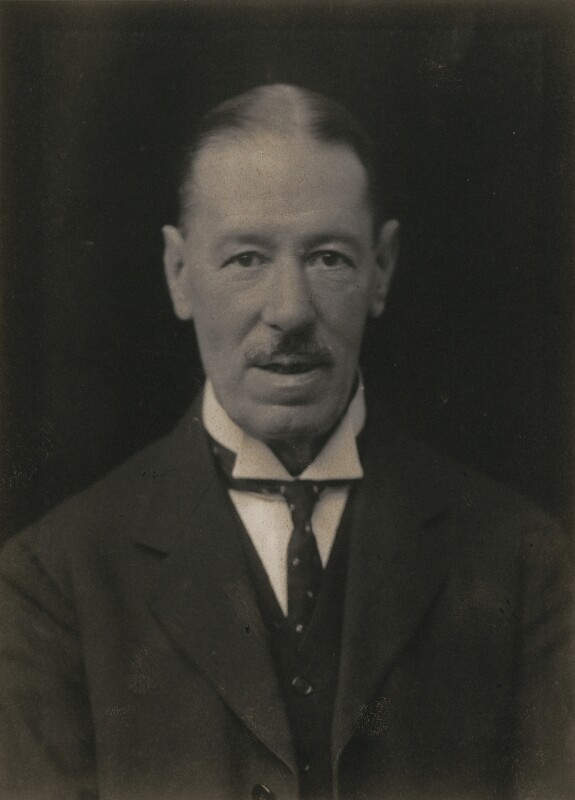 Sir Thomas Henry Elliott, 1st Bt, by Walter Stoneman, 1918 - NPG x167380 - © National Portrait Gallery, London