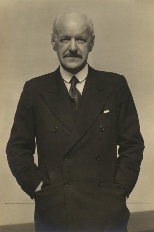 Thomas Renton Elliott, by Walter Stoneman, February 1939 - NPG x167382 - © National Portrait Gallery, London