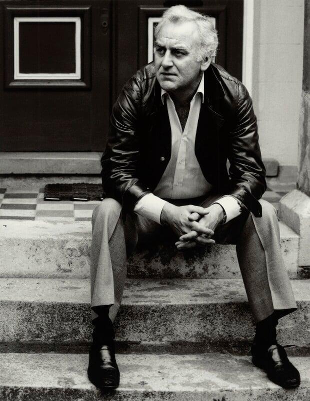 John Thaw, by Lou Boileau, 1986 - NPG x136265 - © Lou Boileau
