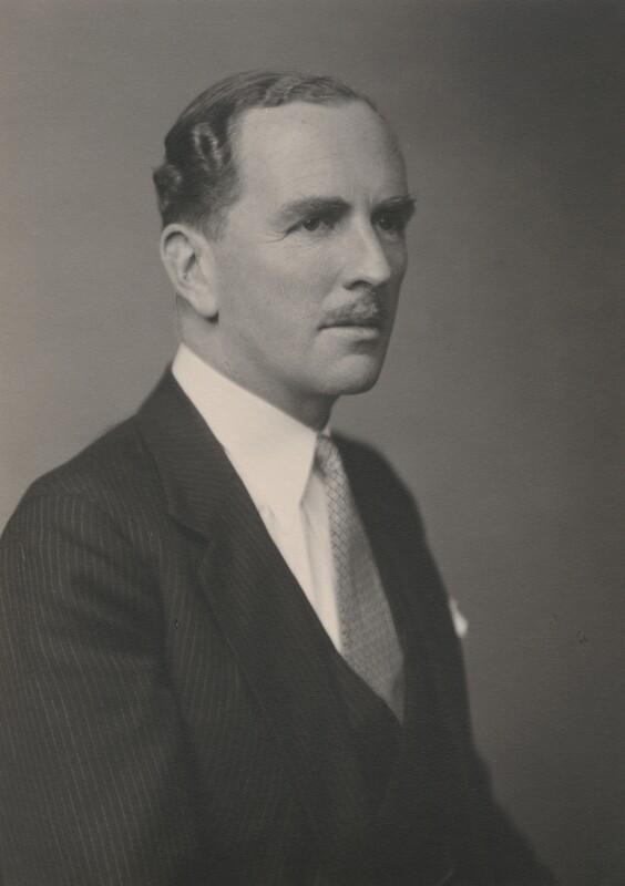 James Gray Stuart, 1st Viscount Stuart of Findhorn, by Walter Stoneman, August 1943 - NPG x169206 - © National Portrait Gallery, London