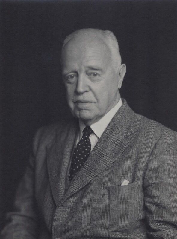 Sir Geoffrey Evans, by Walter Stoneman, September 1948 - NPG x167438 - © National Portrait Gallery, London