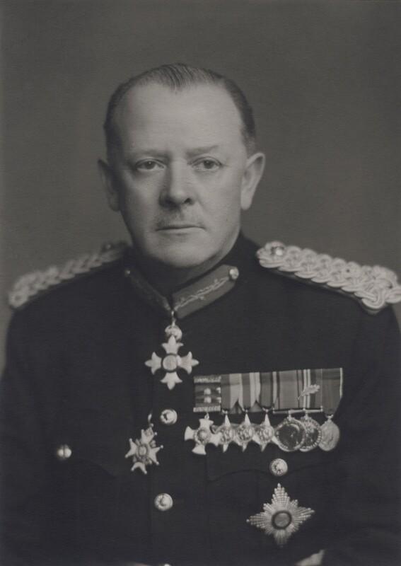 Sir Geoffrey Charles Evans, by Walter Stoneman, 1956 - NPG x167440 - © National Portrait Gallery, London