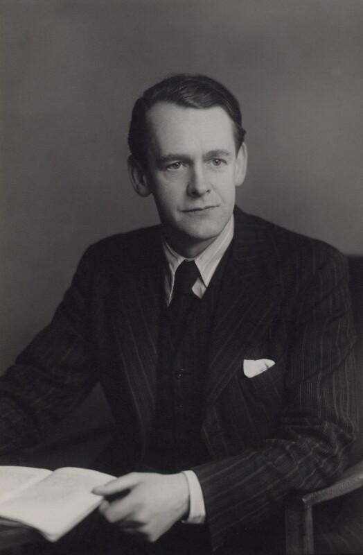 Meredith Gwynne Evans, by Walter Stoneman, 16 March 1949 - NPG x167444 - © National Portrait Gallery, London