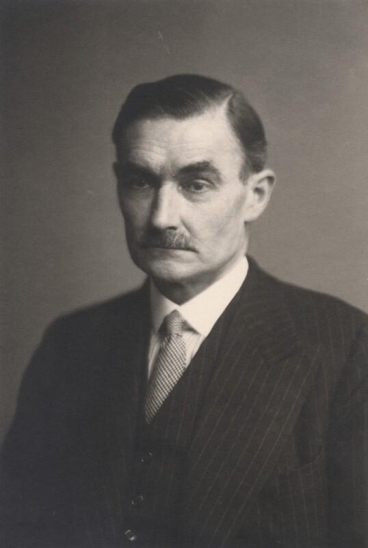 Sir Alan Frederick Lascelles, by Walter Stoneman, October 1943 - NPG x169268 - © National Portrait Gallery, London