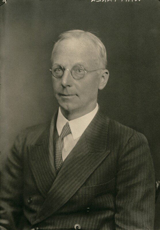Sir Edmund Taylor Whittaker, by Walter Stoneman, 7 April 1933 - NPG x167452 - © National Portrait Gallery, London