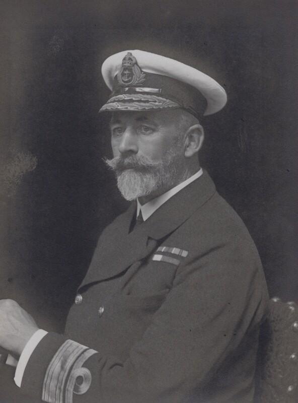 Sir Allan Frederic Everett, by Walter Stoneman, 1918 - NPG x167453 - © National Portrait Gallery, London