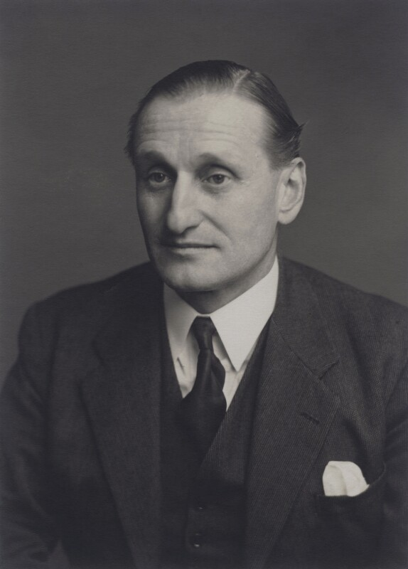 David George Brownlow Cecil, 6th Marquess of Exeter, by Walter Stoneman, 1952 - NPG x167468 - © National Portrait Gallery, London