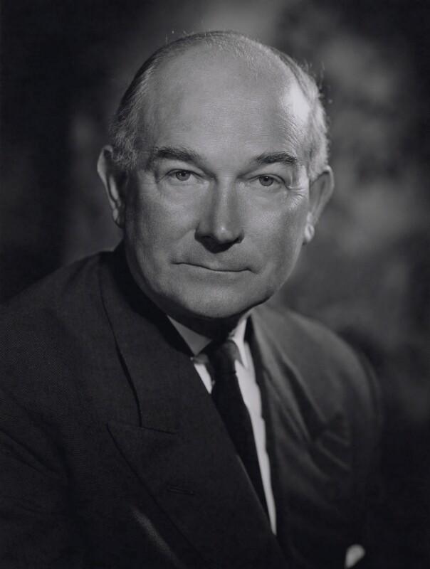 Sir Neville Major Ginner Faulks, by Walter Bird, 31 July 1963 - NPG x167499 - © National Portrait Gallery, London