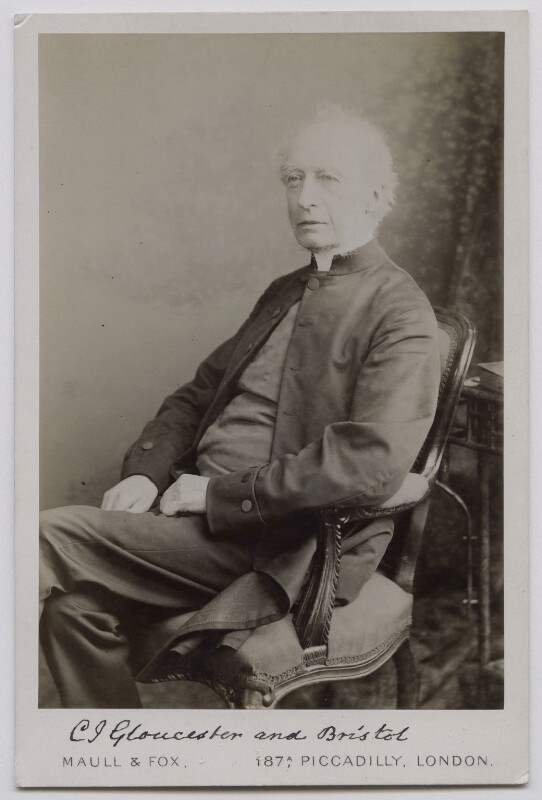 Charles John Ellicott, by Maull & Fox, 1890s - NPG x159026 - © National Portrait Gallery, London