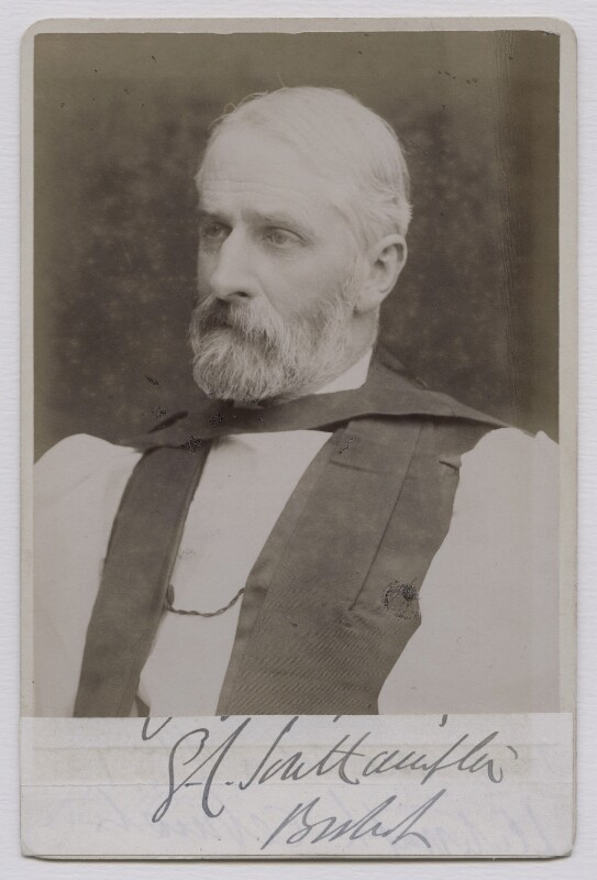 George Carnac Fisher, by James Russell & Sons, late 1890s - NPG x159046 - © National Portrait Gallery, London