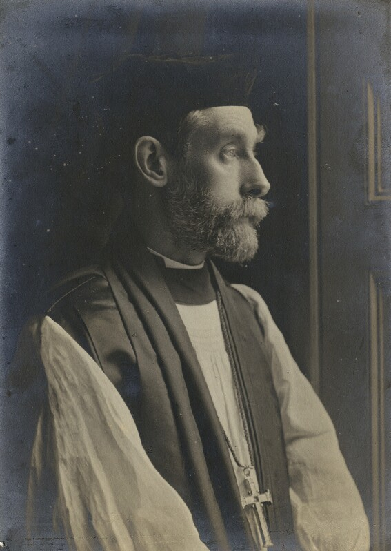 Charles Gore, by John Lemmon Russell, 1902 - NPG x159087 - © National Portrait Gallery, London