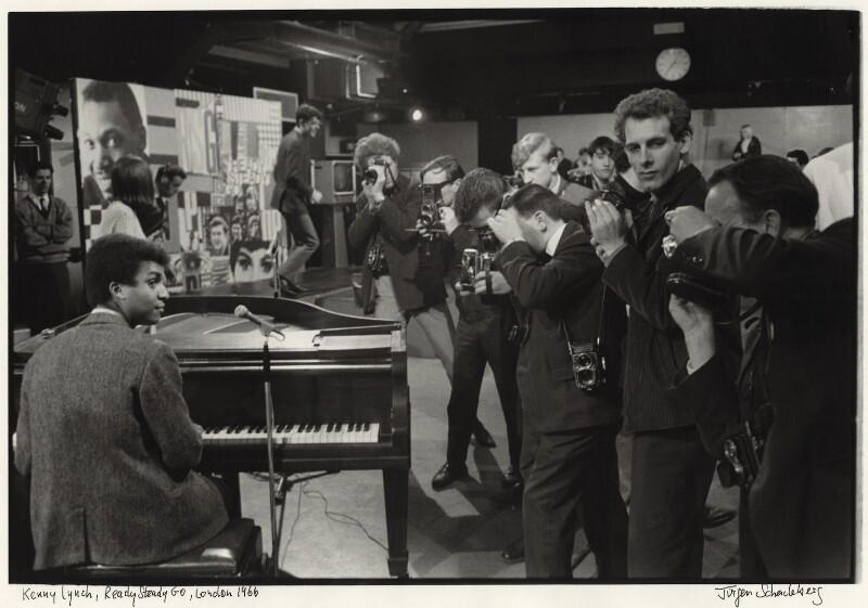 Kenny Lynch, by Jurgen Schadeberg, 1966 - NPG x136285 - © Jurgen Schadeberg / National Portrait Gallery, London