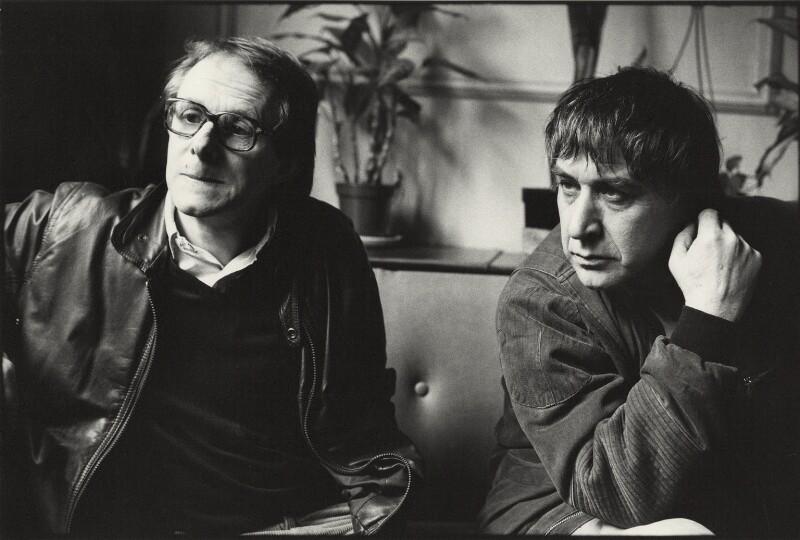 Ken Loach; Trevor Griffiths, by Neil Libbert, 1987 - NPG x136290 - © Neil Libbert