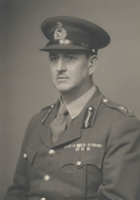 Sir Leslie Burtonshaw Nicholls, by Walter Stoneman, February 1944 - NPG x169431 - © National Portrait Gallery, London