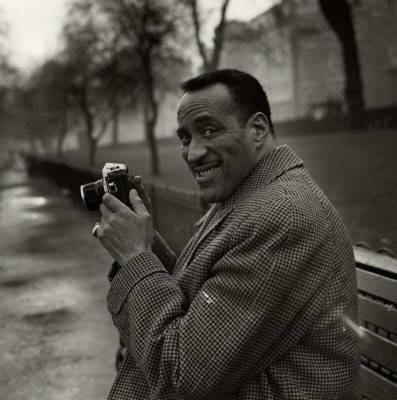 Ray Ellington, by Bob Collins, 1963 - NPG x136337 - © estate of Bob Collins / National Portrait Gallery, London
