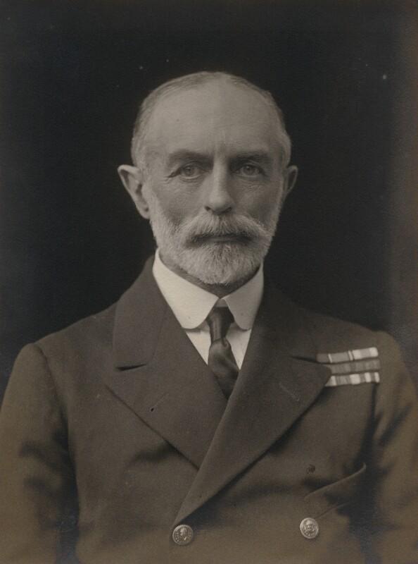 Sir Sydney Robert Fremantle, by Walter Stoneman, 1918 - NPG x167680 - © National Portrait Gallery, London