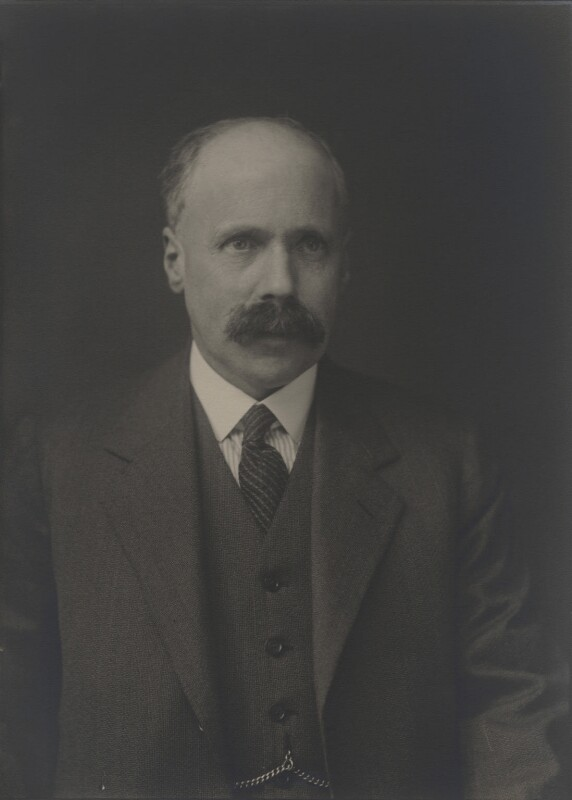 Felix Eugen Fritsch, by Walter Stoneman, 1932 - NPG x167692 - © National Portrait Gallery, London