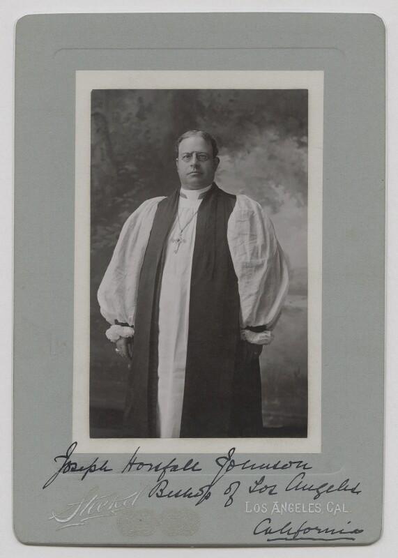 Joseph Horsfall Johnson, by Steekel, circa 1880s-1890s - NPG x159199 - © National Portrait Gallery, London