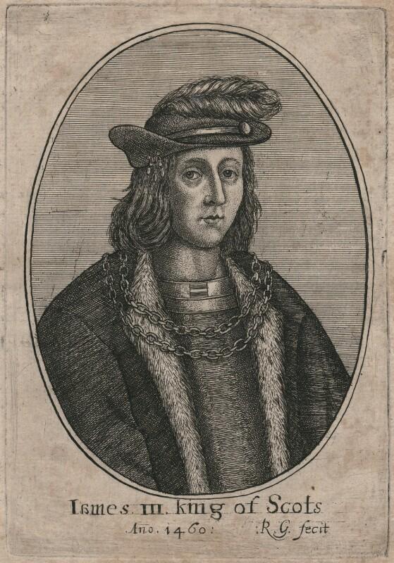 James III of Scotland, by Richard Gaywood, circa 1655 - NPG D42375 - © National Portrait Gallery, London