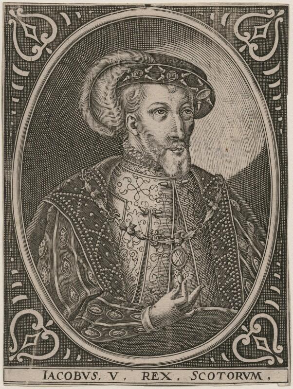 James V of Scotland, after Unknown artist, circa 1602 - NPG D42365 - © National Portrait Gallery, London