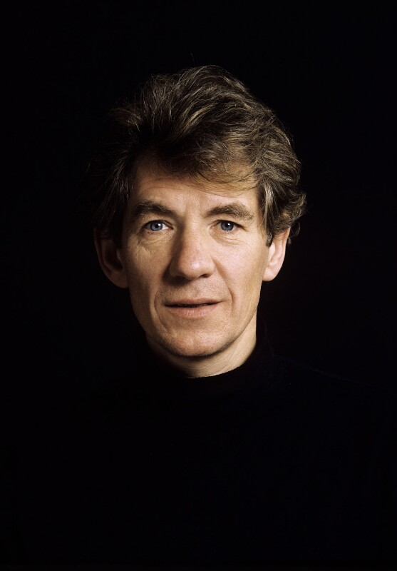 Ian McKellen, by Malcolm Crowthers, 1988 - NPG x136369 - © Malcolm Crowthers / National Portrait Gallery, London