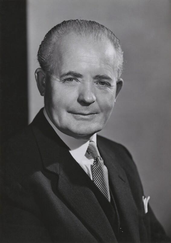 Sir John Clarke George, by Walter Bird, November 1959 - NPG x167779 - © National Portrait Gallery, London