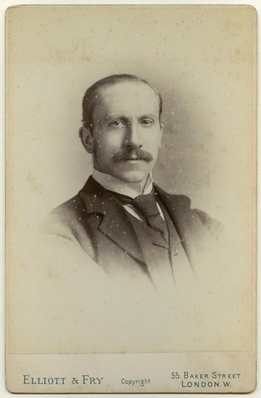 Alfred Milner, Viscount Milner, by Elliott & Fry, 1890s - NPG x136373 - © National Portrait Gallery, London