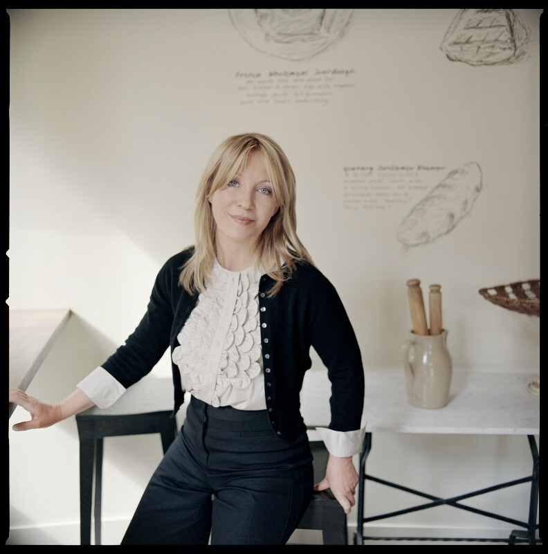 Kirsty Young, by Abigail Zoe Martin, 2008 - NPG x136367 - © BBC Pictures - Specially Commissioned for BBC RADIO 4