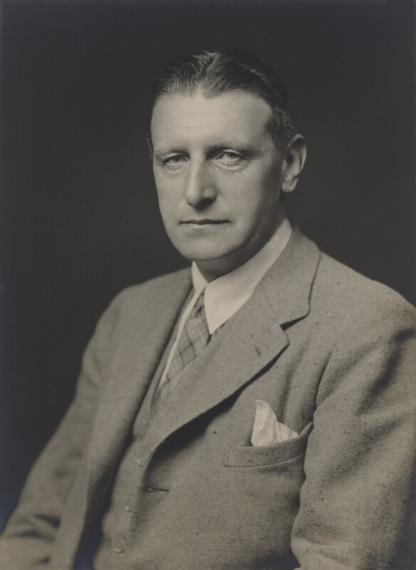 Sir (James) Angus Gillan, by Walter Stoneman, October 1939 - NPG x167802 - © National Portrait Gallery, London