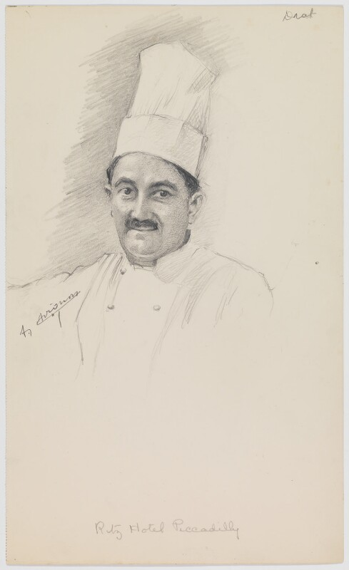 Arsène Avignon, by Florence Enid Stoddard, circa 1937 - NPG D42432 - © reserved; collection National Portrait Gallery, London