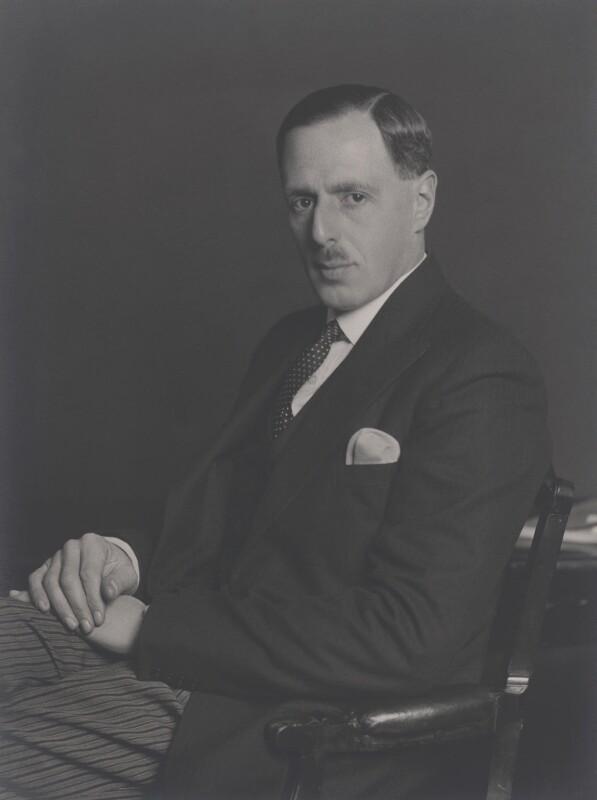 Sir Louis Halle Gluckstein, by Walter Stoneman, December 1937 - NPG x167831 - © National Portrait Gallery, London