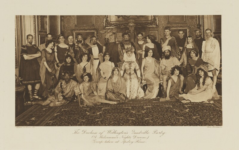 'The Duchess of Wellington's Quadrille Party (A Midsummer Night's Dream)', by Mendelssohn Ltd, published by  Hudson & Kearns Ltd, 20 June 1911, published 1912 - NPG Ax135773 - © National Portrait Gallery, London