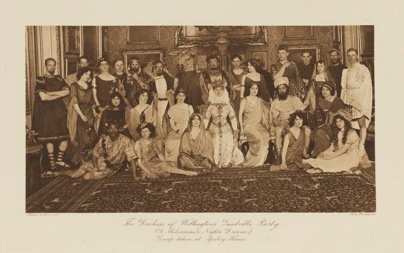 'The Duchess of Wellington's Quadrille Party (A Midsummer Night's Dream)', by Mendelssohn Ltd, published by  Hudson & Kearns Ltd, 20 June 1911, published 1912 - NPG Ax135773 - © National Portrait Gallery, London