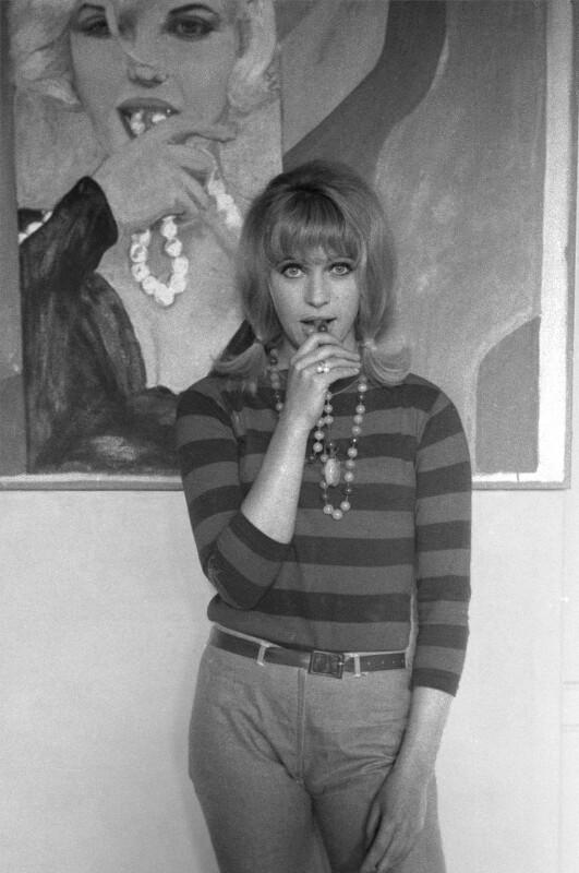 Pauline Boty, by John Aston, 1962 - NPG x136386 - © John Aston 1962