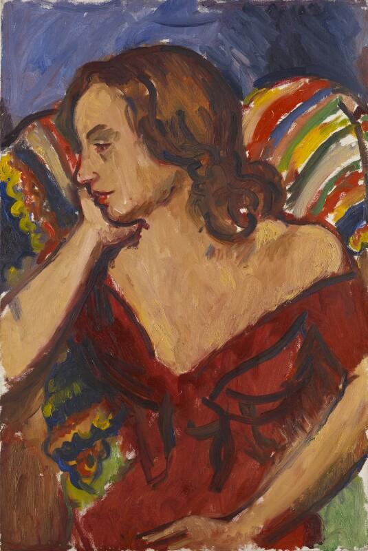 Angelica Garnett, by Sir Matthew Smith, circa 1957 - NPG 6951 - © the Estate of Sir Matthew Bracy Smith