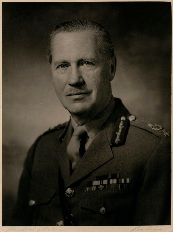 Sir Richard Amyatt Hull, by Hay Wrightson Ltd, circa 1960s - NPG x180763 - © National Portrait Gallery, London