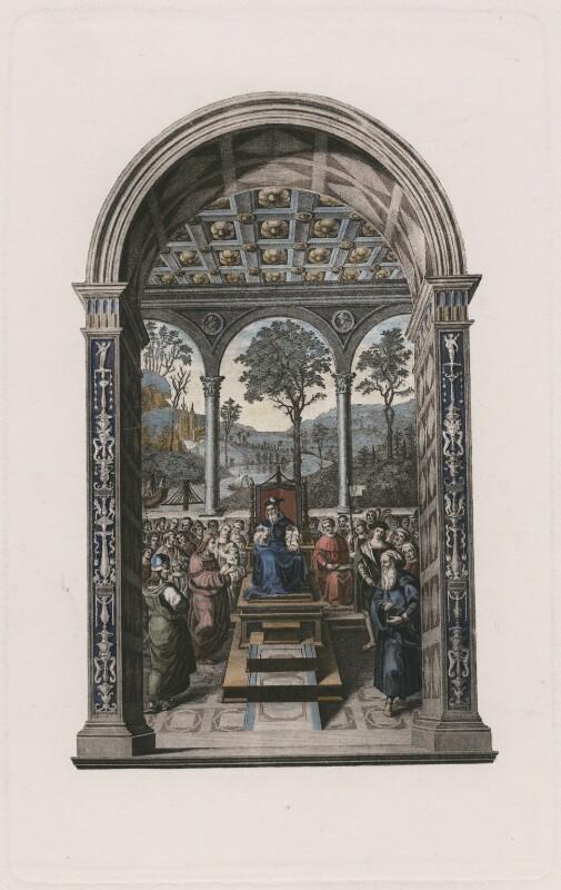 James I of Scotland, after Pinturicchio, published 1902 (mid 15th century) - NPG D42446 - © National Portrait Gallery, London