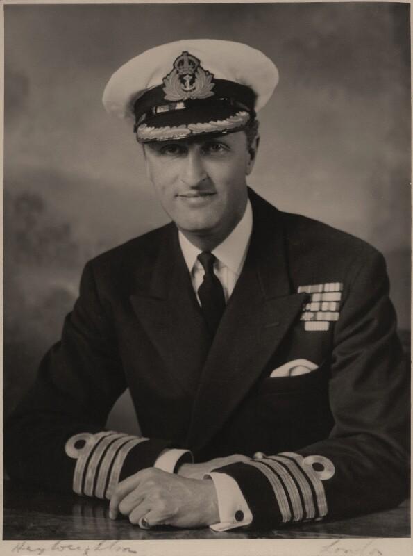 Samuel Richard Le Hunte Lombard-Hobson, by Hay Wrightson Ltd, circa 1950s - NPG x180968 - © National Portrait Gallery, London