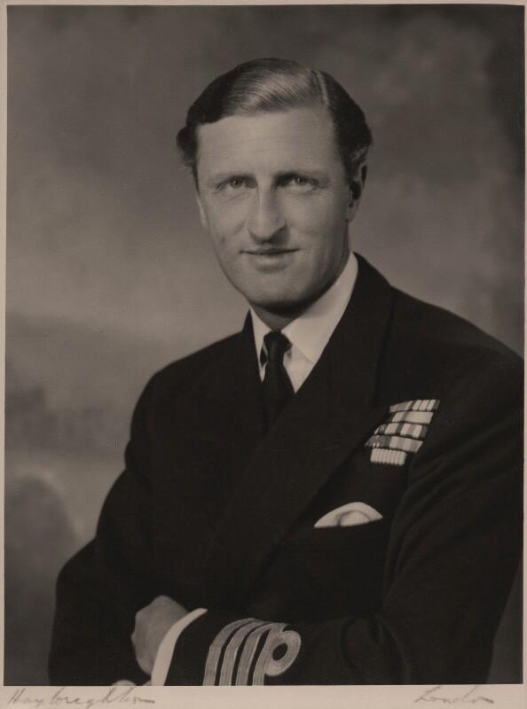 Samuel Richard Le Hunte Lombard-Hobson, by Hay Wrightson Ltd, circa 1950s - NPG x180969 - © National Portrait Gallery, London