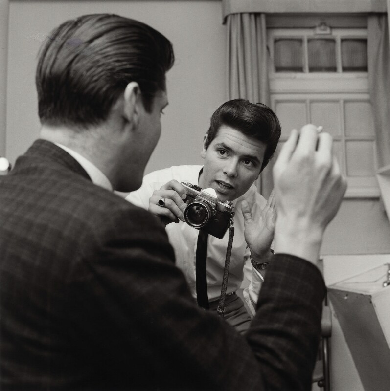Bob Collins; Cliff Richard, by Bob Collins, 1963 - NPG x136437 - © estate of Bob Collins / National Portrait Gallery, London