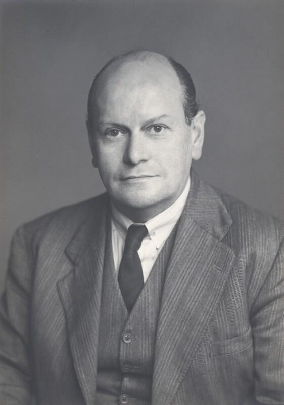 (Charles) Leslie Hale, Baron Hale, by Walter Stoneman, October 1949 - NPG x168047 - © National Portrait Gallery, London
