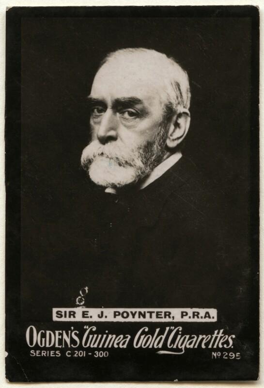 Sir Edward John Poynter, 1st Bt, published by Ogden's, published circa 1896-1907 - NPG x136476 - © National Portrait Gallery, London