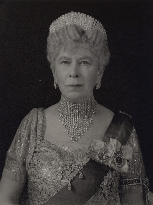 Queen Mary, by Hay Wrightson Ltd, 8 April 1947 - NPG x181629 - © National Portrait Gallery, London