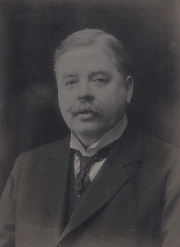Sir (Robert) Leicester Harmsworth, 1st Bt, by Walter Stoneman, 1920 - NPG x168141 - © National Portrait Gallery, London