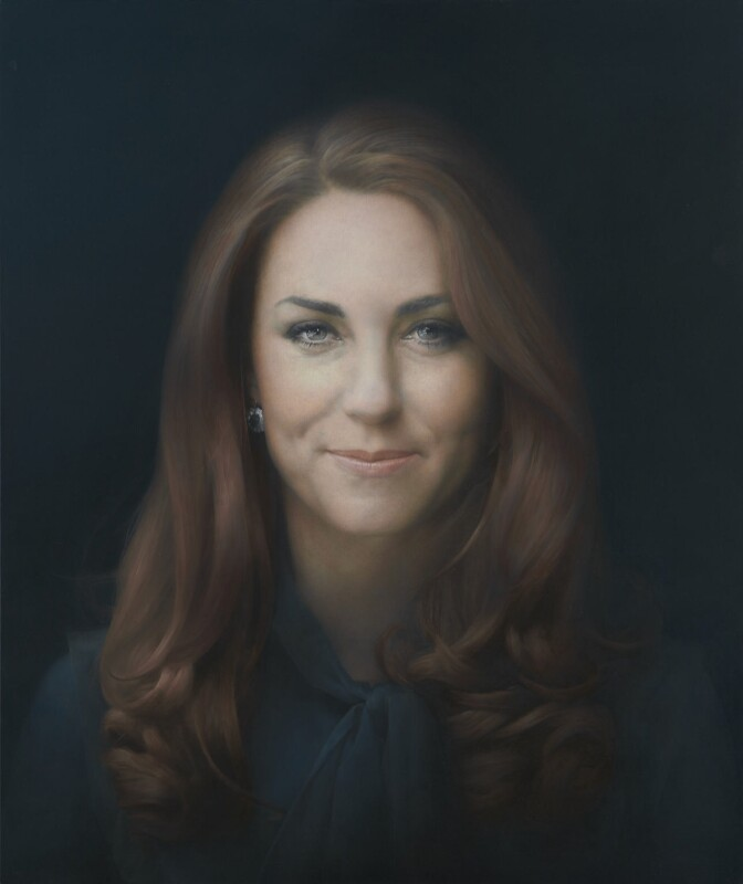 Catherine, Duchess of Cambridge, by Paul Emsley, 2012 - NPG 6956 - © National Portrait Gallery, London