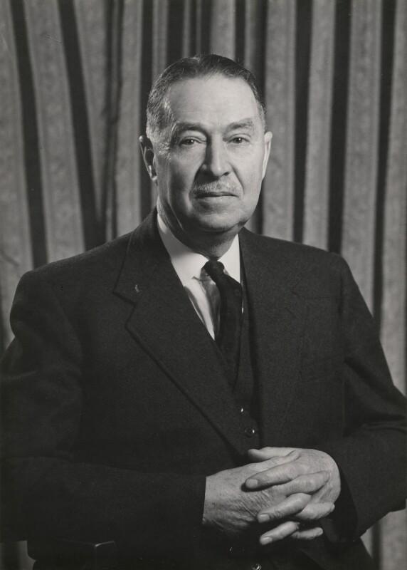 Leonard Arthur Hawes, by Walter Stoneman, January 1958 - NPG x168205 - © National Portrait Gallery, London