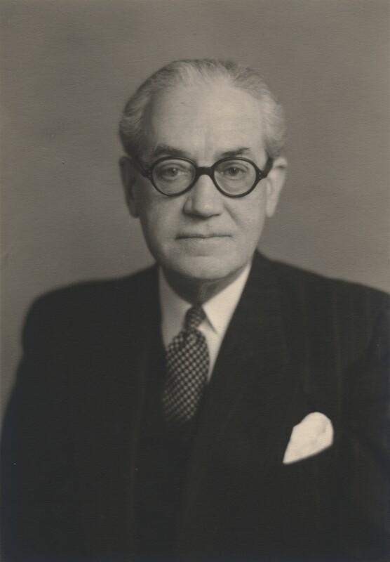 Sir (Edward) Anthony Hawke, by Walter Stoneman, 1954 - NPG x168208 - © National Portrait Gallery, London