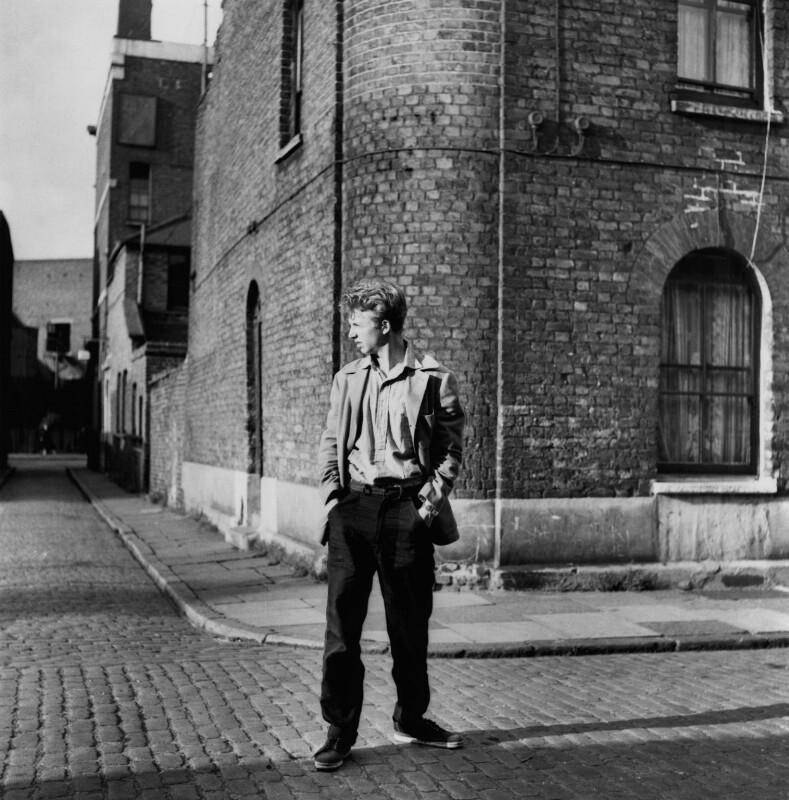 Tommy Steele, by Bob Collins, 1956 - NPG x136588 - © estate of Bob Collins / National Portrait Gallery, London
