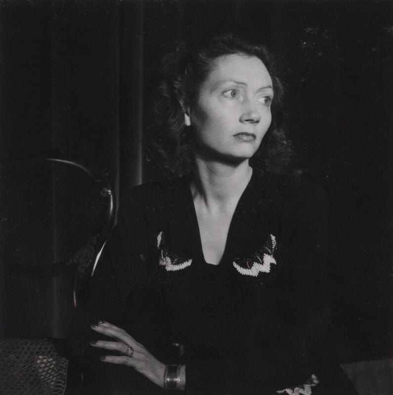Isobel Bertha Strachey (née Leslie), by Francis Goodman, 20 December 1946 - NPG Ax39648 - © National Portrait Gallery, London